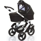ABC Design Cobra Kinderwagen - phantom/white/black - Modell 2015